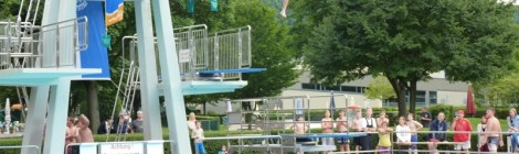 Beach-Party im Freibad